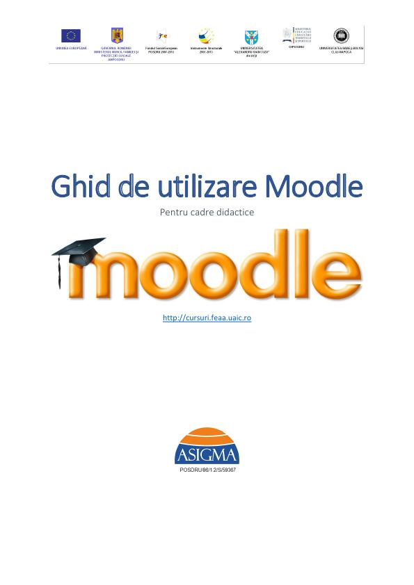 Ghid de utilizare Moodle