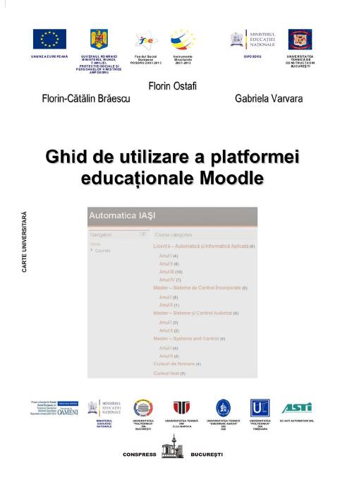 Ghid de utilizare a platformei educationale Moodle