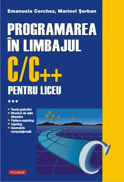 Programarea în limbajul C/C++