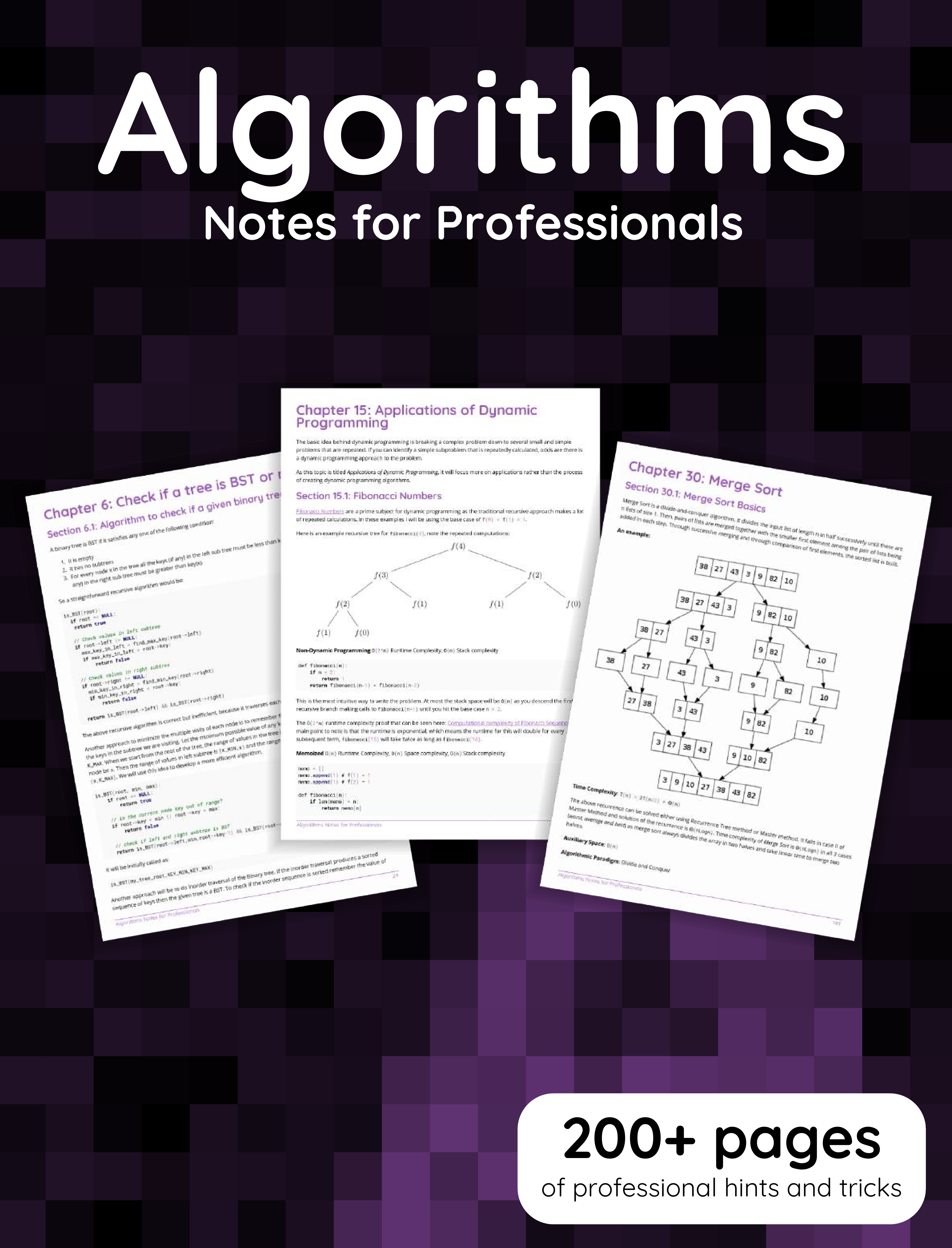 Algorithms Notes for Professionals book