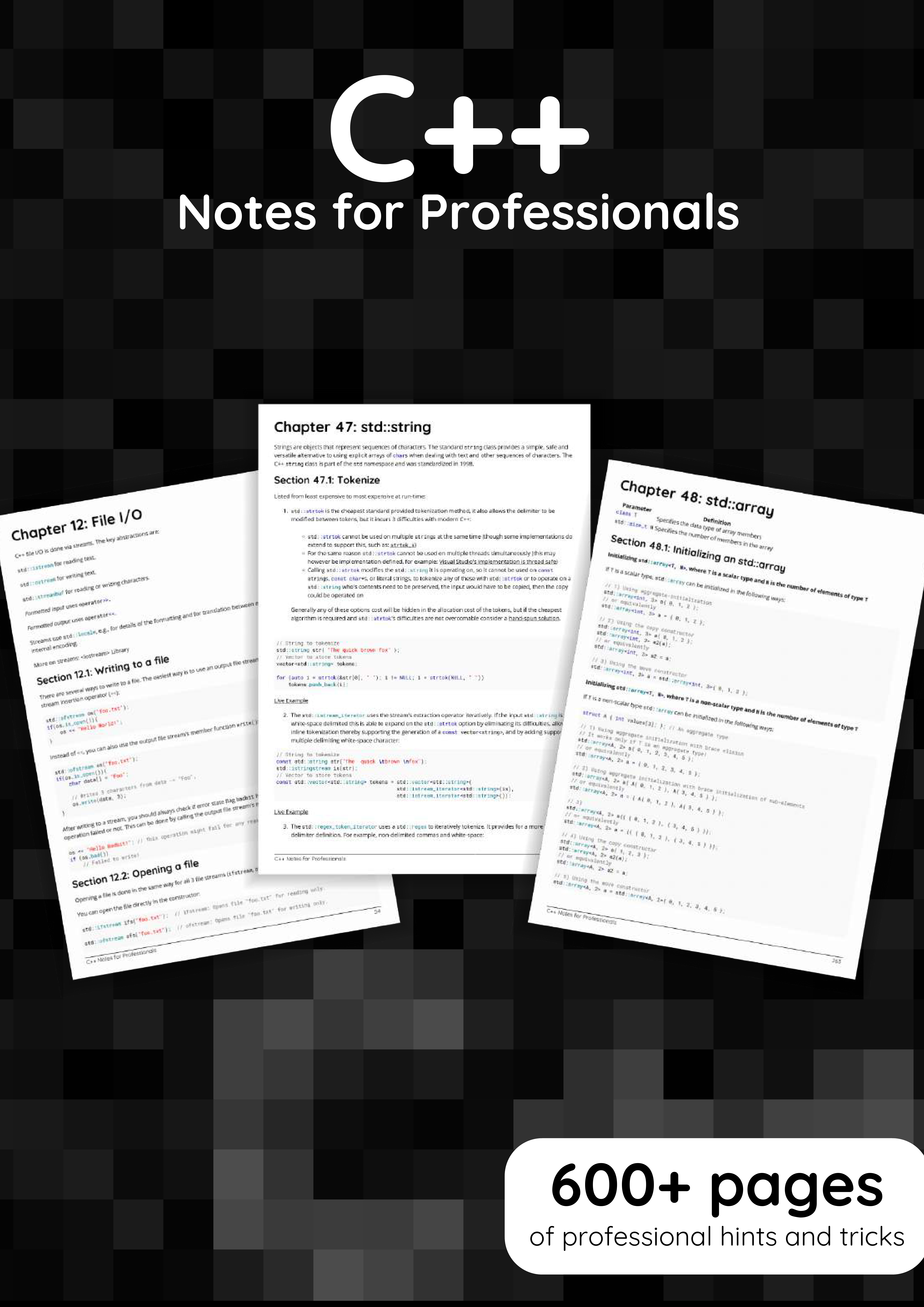 C++ Note for Professionals