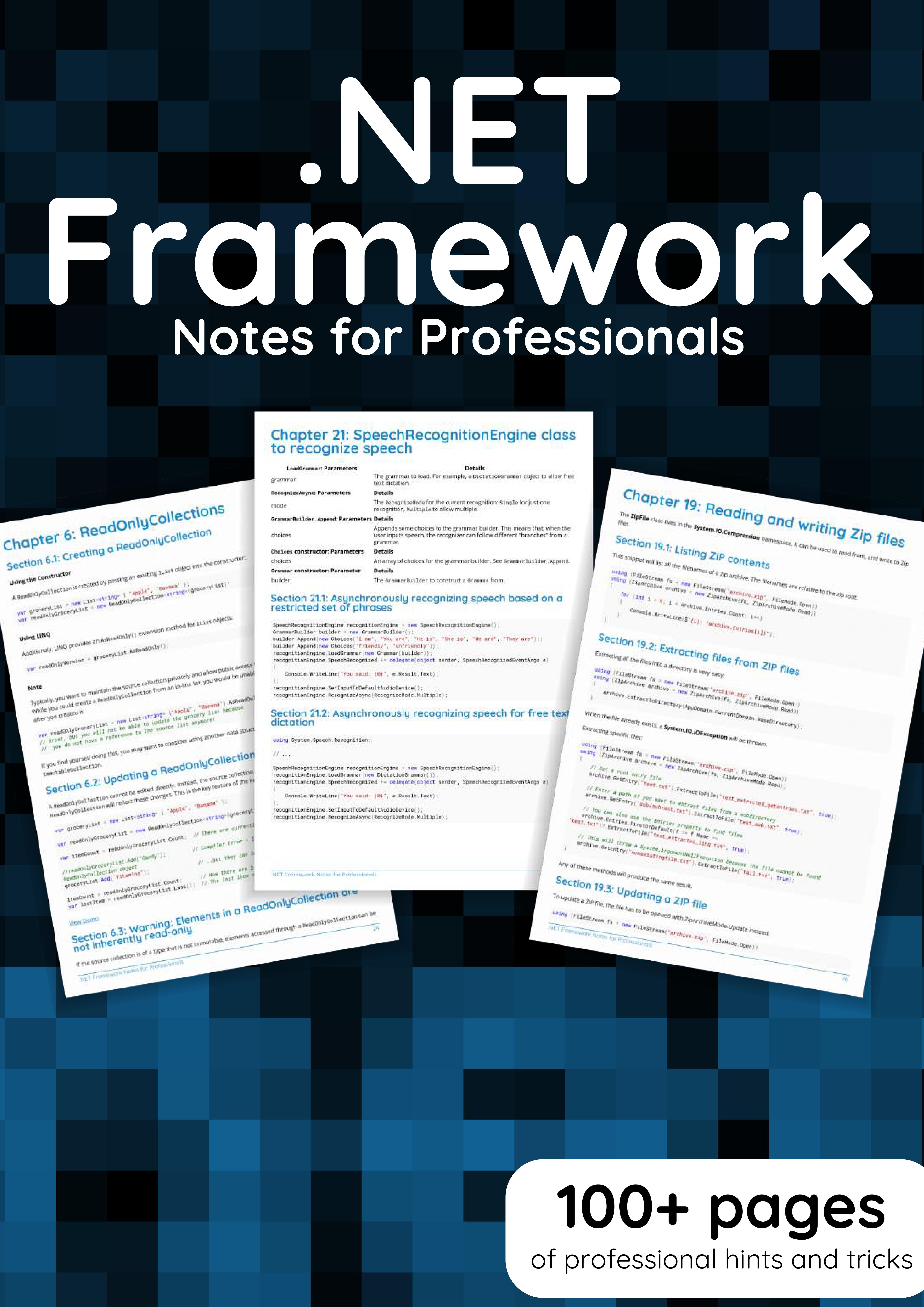 .NET Framework Notes for Professionals book
