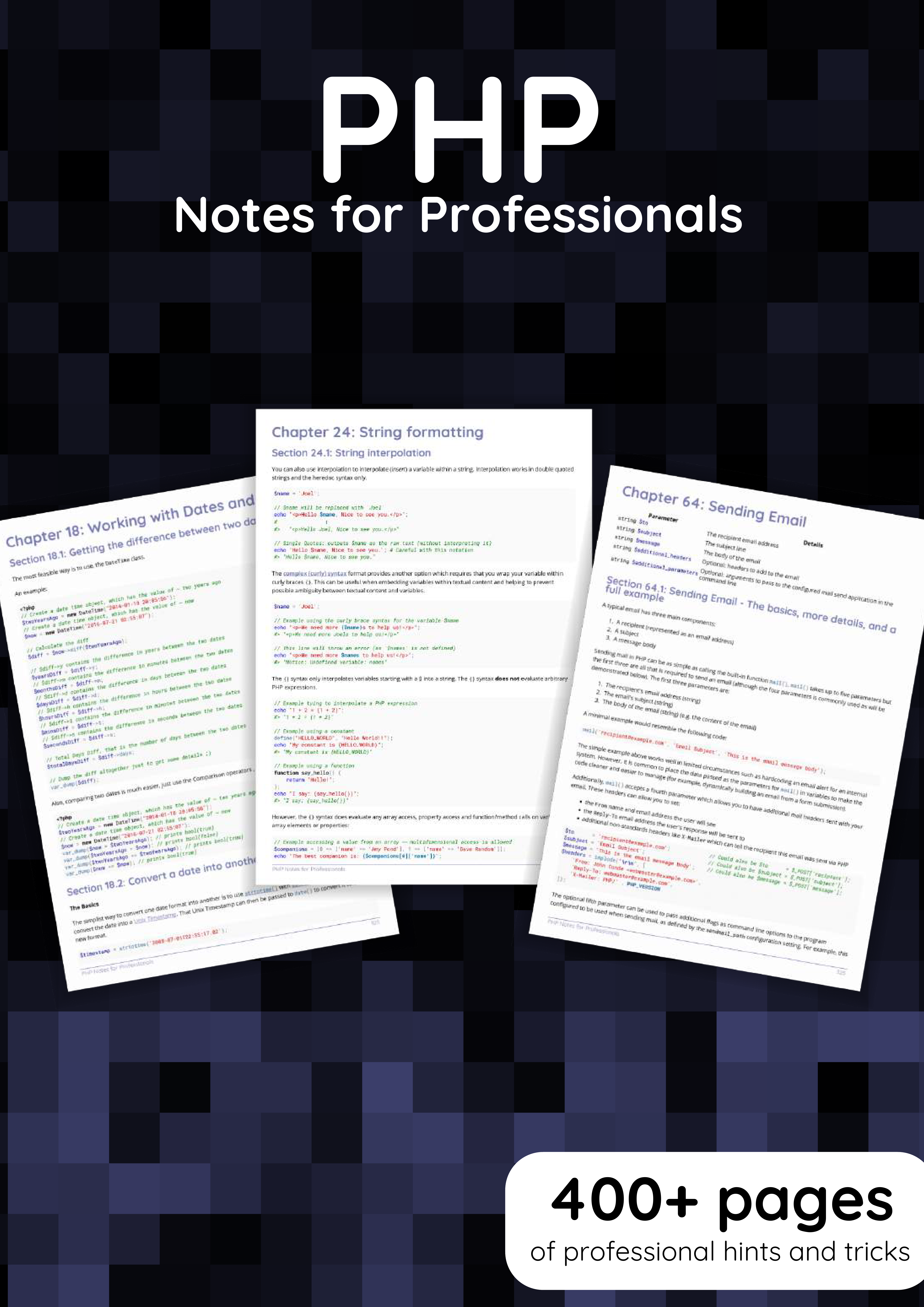 PHP Notes for Professionals book