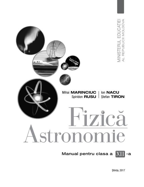 Fizica-Astronomie (cl.12, in limba romana)