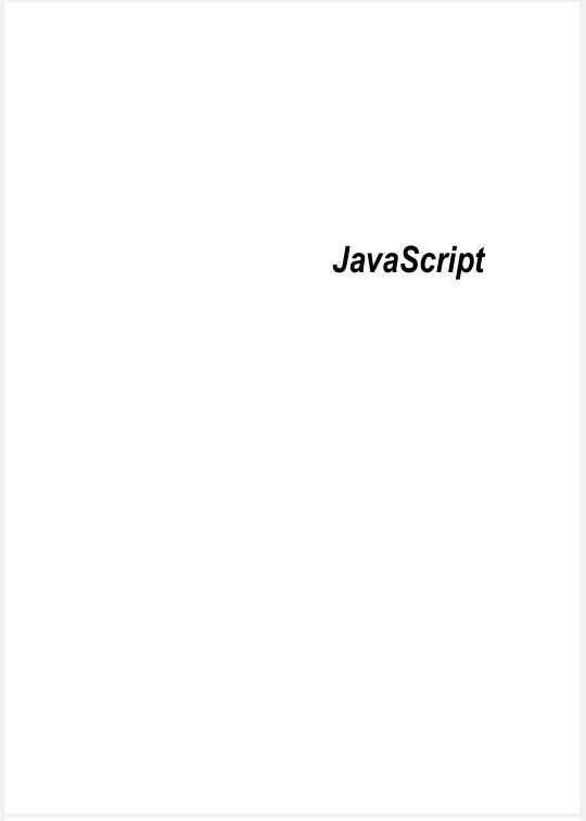 Limbajul JavaScript
