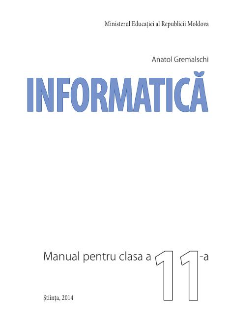 Informatica (in limba romana) 11