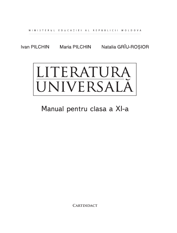 Literatura universala (in limba romana) 11